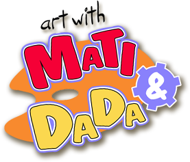 Art with mati and Dada